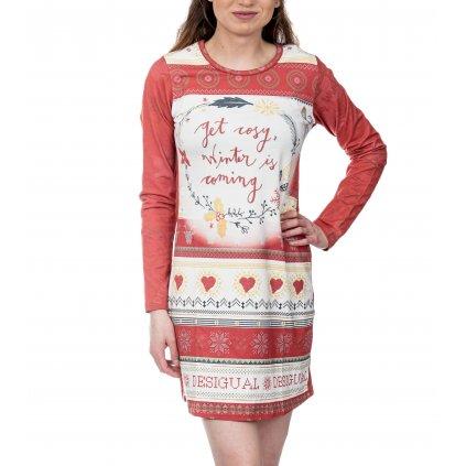 Noční košile s vánočním motivem - DESIGUAL