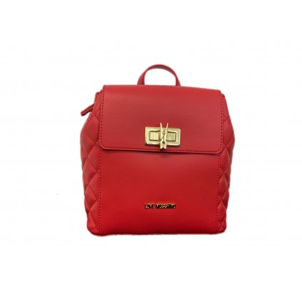 Červený batůžek - LOVE MOSCHINO