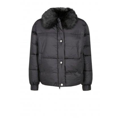 Černá zimní bunda - EMPORIO ARMANI