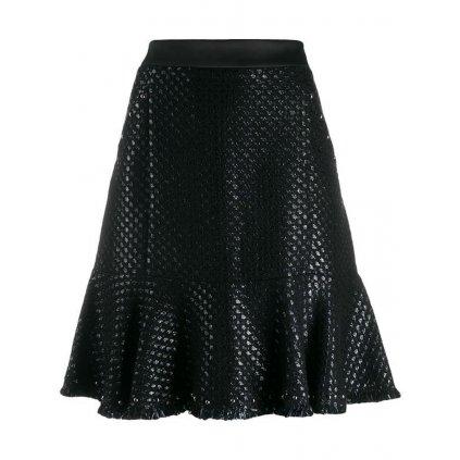 Černá sukně - KARL LAGERFELD