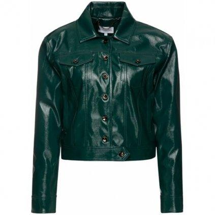 Zelená lesklá bunda - PATRIZIA PEPE