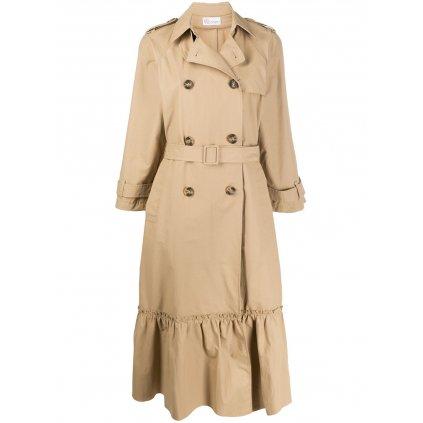 Béžový lehký kabát - RED VALENTINO