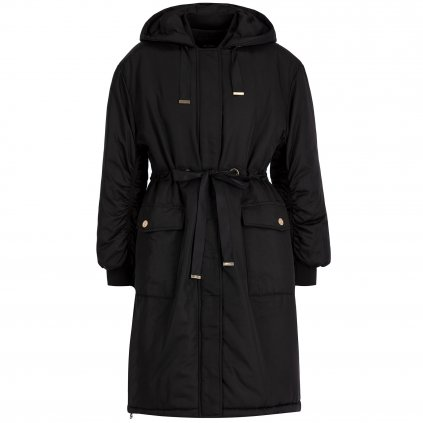 my twin parka coulisse 192mp2082 cerna regular fit