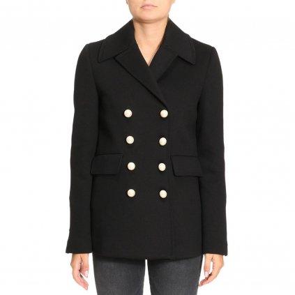 Černý krátký kabát - PINKO