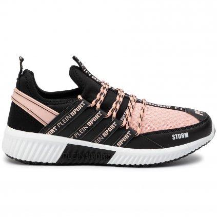 plein sport sneakersy runner logos f19s msc2237 ste003n cerna 1 2