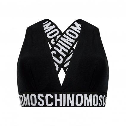 moschino underwear swim biustonosz top a4634 9003 czarny 3 cut