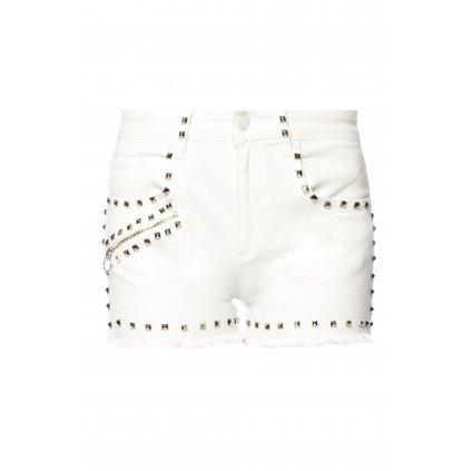 Bílé džínové šortky - VERSACE JEANS