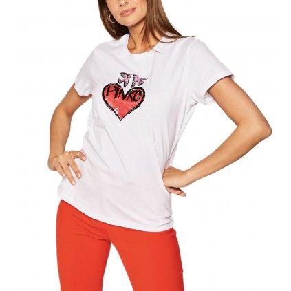 pinko t shirt sallie pe 20 prr 1n12rk y6hb bila regular fit cut