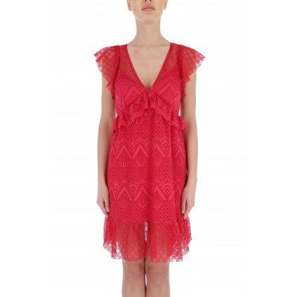 Červené šaty - GUESS