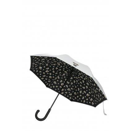 Bílý deštník - KARL LAGERFELD | Ikonik