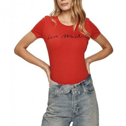 Červené tričko - LOVE MOSCHINO