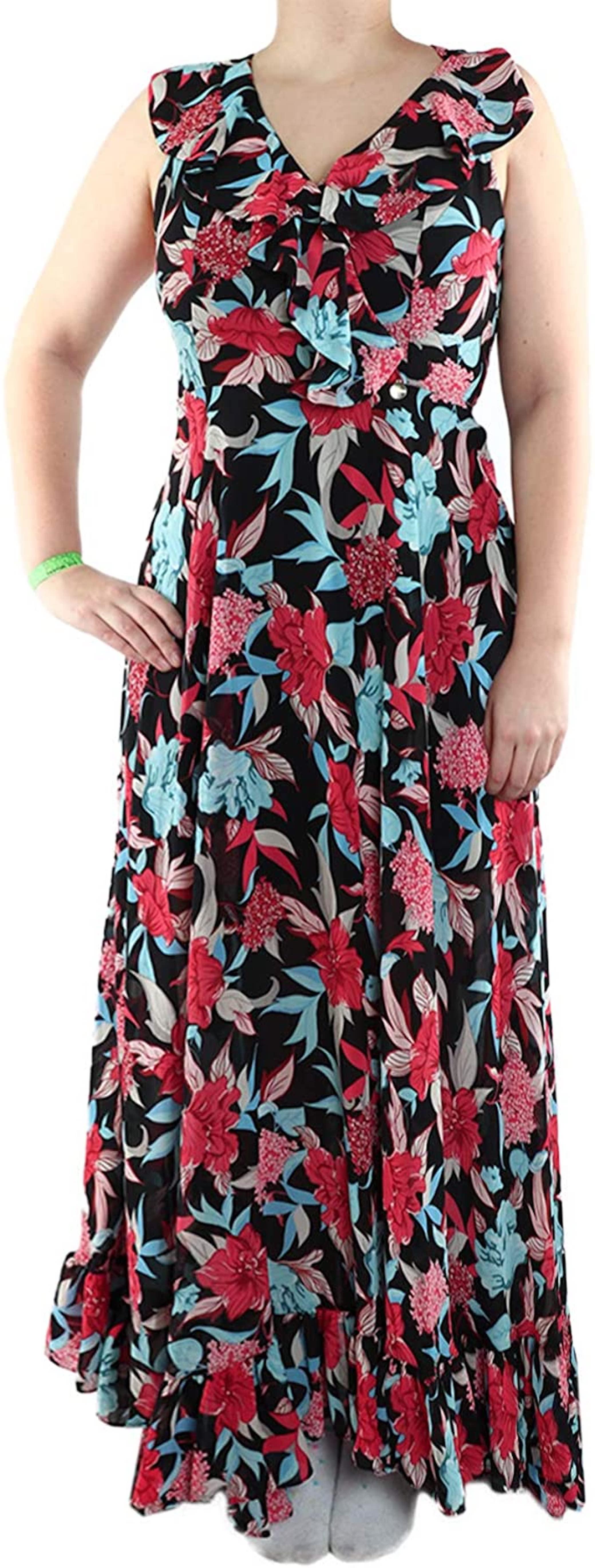 Letní květované šaty - FRACOMINA