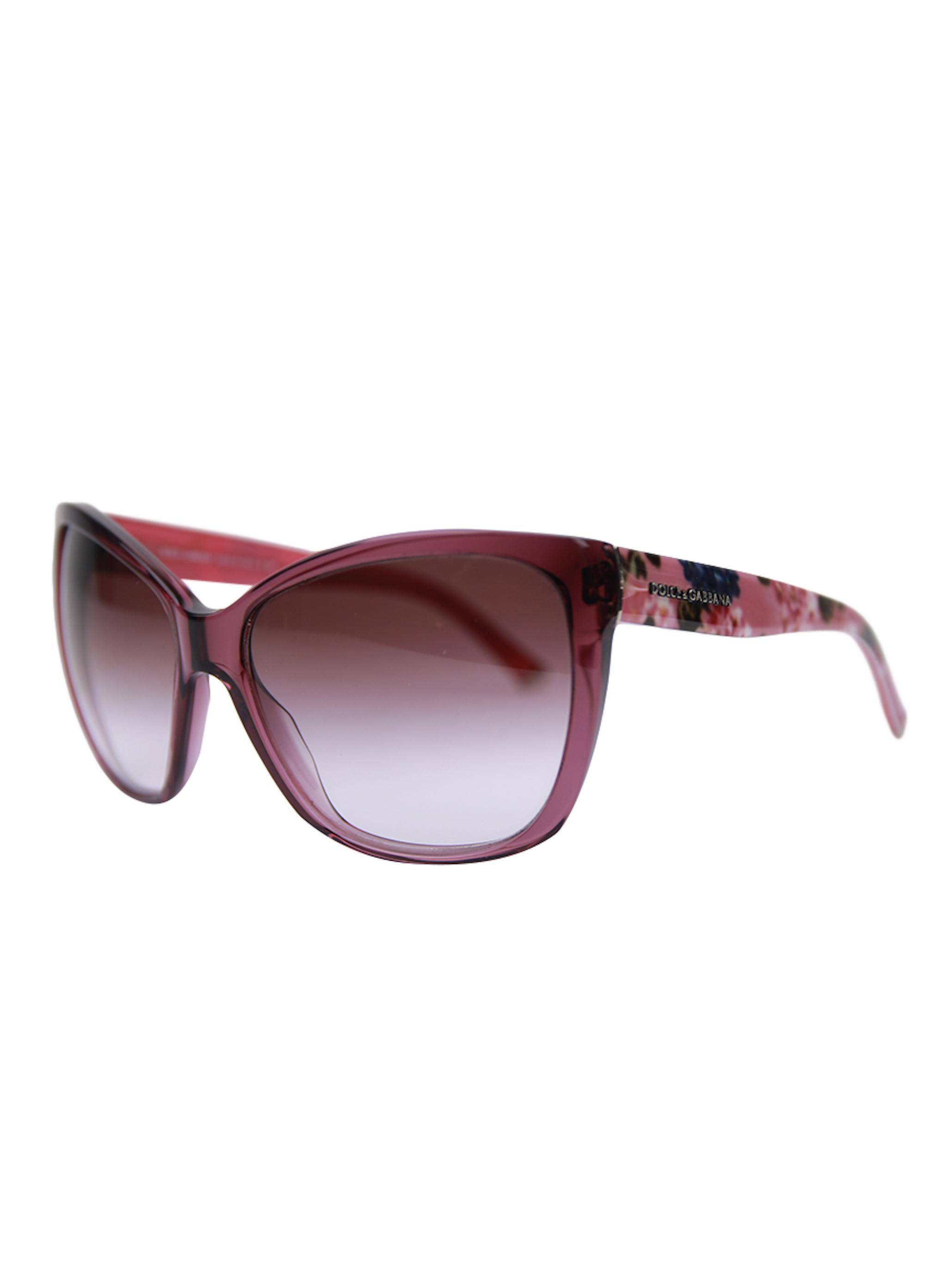 Růžové sluneční brýle - DOLCE & GABBANA