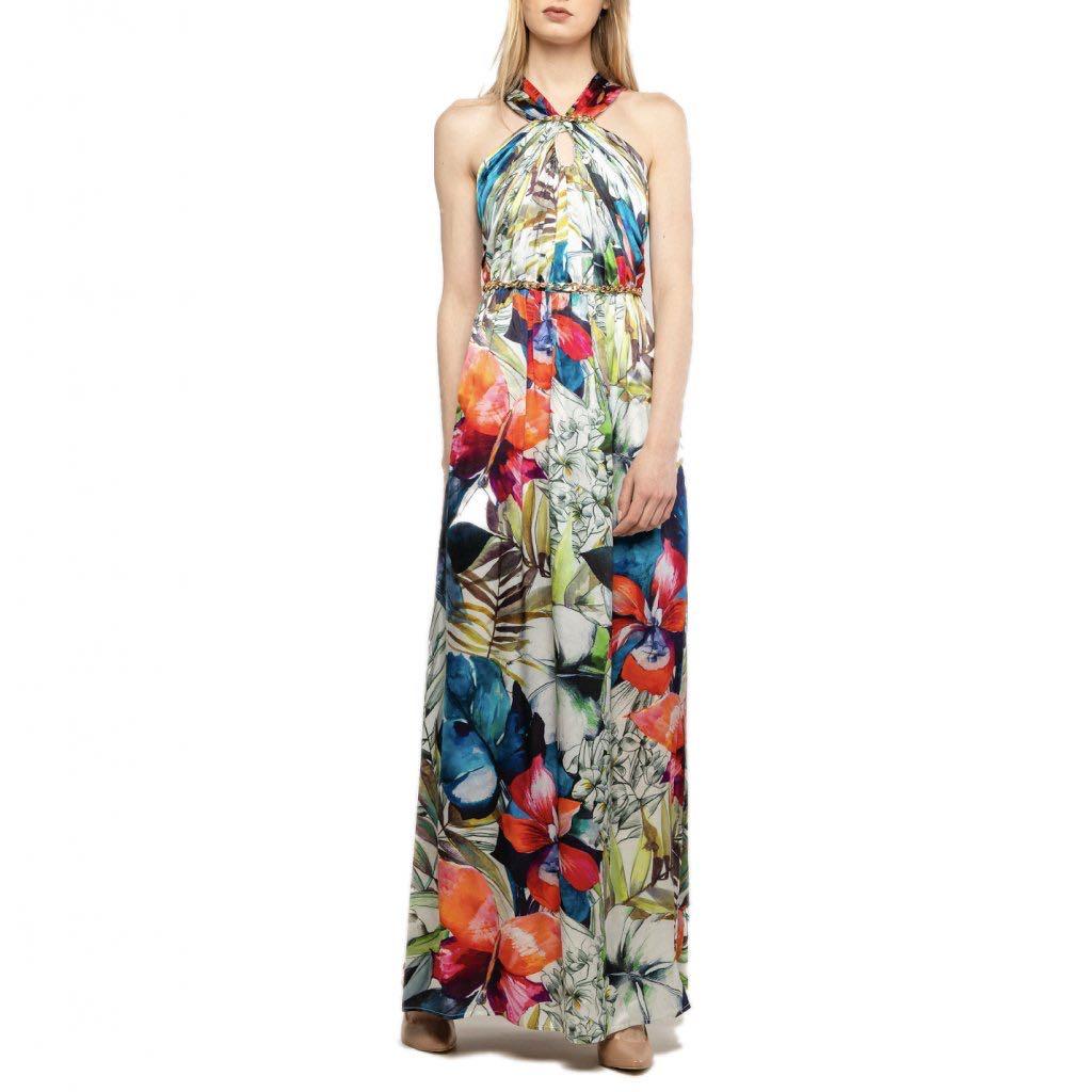 Hedvábné šaty - MARCIANO GUESS