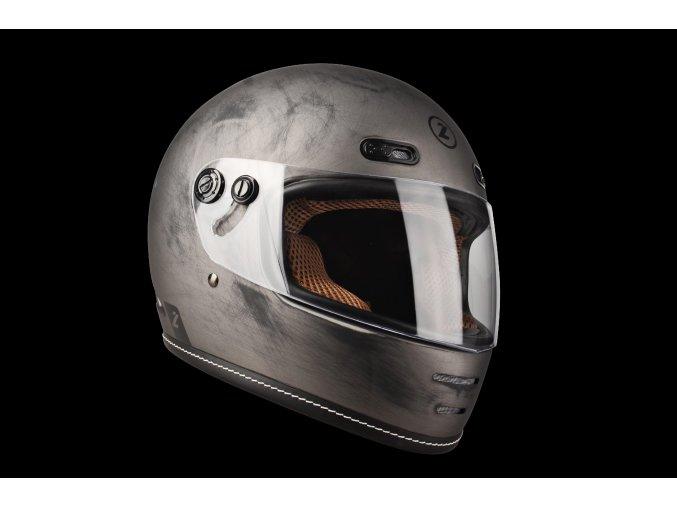Oroshi Cafe Racer Alu Brushed Matt 3 4