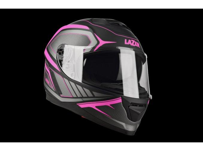 Rafale Hexa Black Pink Matt 3 4