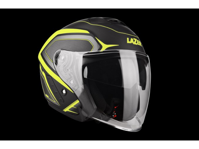 Tango Hexa Black Yellow Matt 3 4