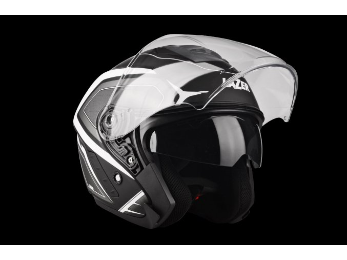 Tango Hexa Black White Matt 3 4 Open