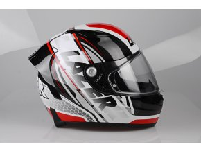 Osprey Slick Black Carbon White Red side