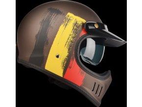 Cross TT Belgium Black Red Yellow Side