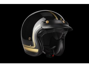 Conga Cosmo Black Gold Glossy 3 4 + peak