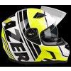 Bayamo Race Spirit White Yellow Fluo Black Side Open