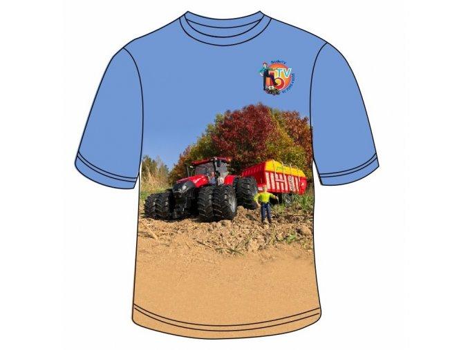 triko traktor cerveny1