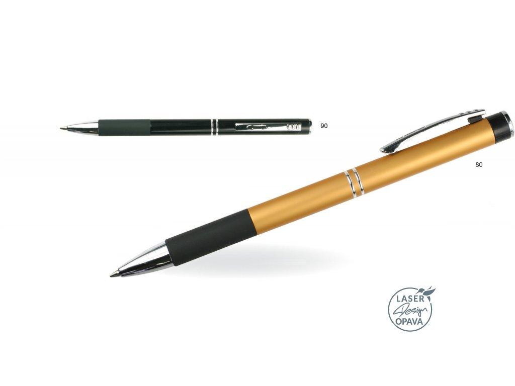 Hliníkové kuličkové pero nebo mikrotužka Estor