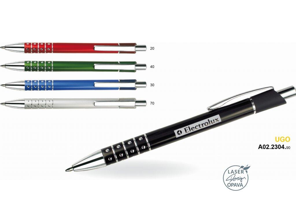 Kovové kuličkové pero Ugo