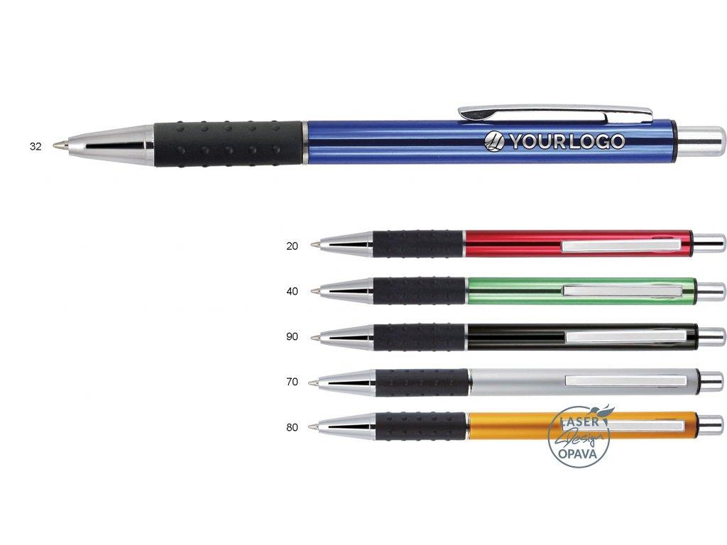 Hliníkové kuličkové pero Blaster