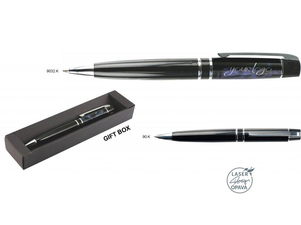 Kovové kuličkové pero Turpis