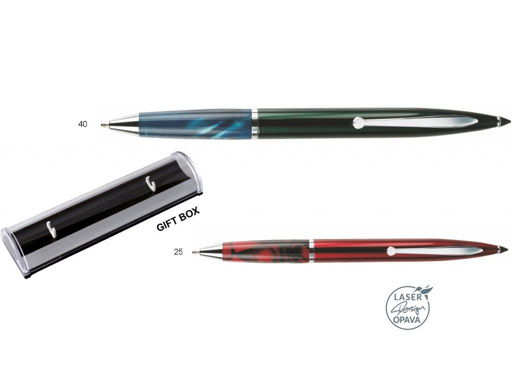 Kovové kuličkové pero Belis