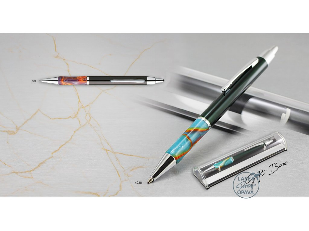 Kovové kuličkové pero Leova