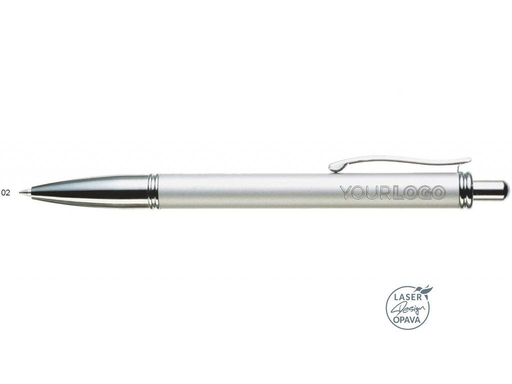 Kovové kuličkové pero Tonga