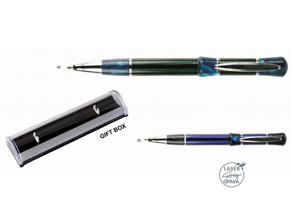 Kovové kuličkové pero Agarus