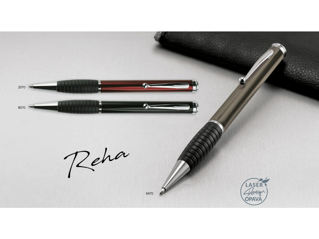 Kovové kuličkové pero Reha