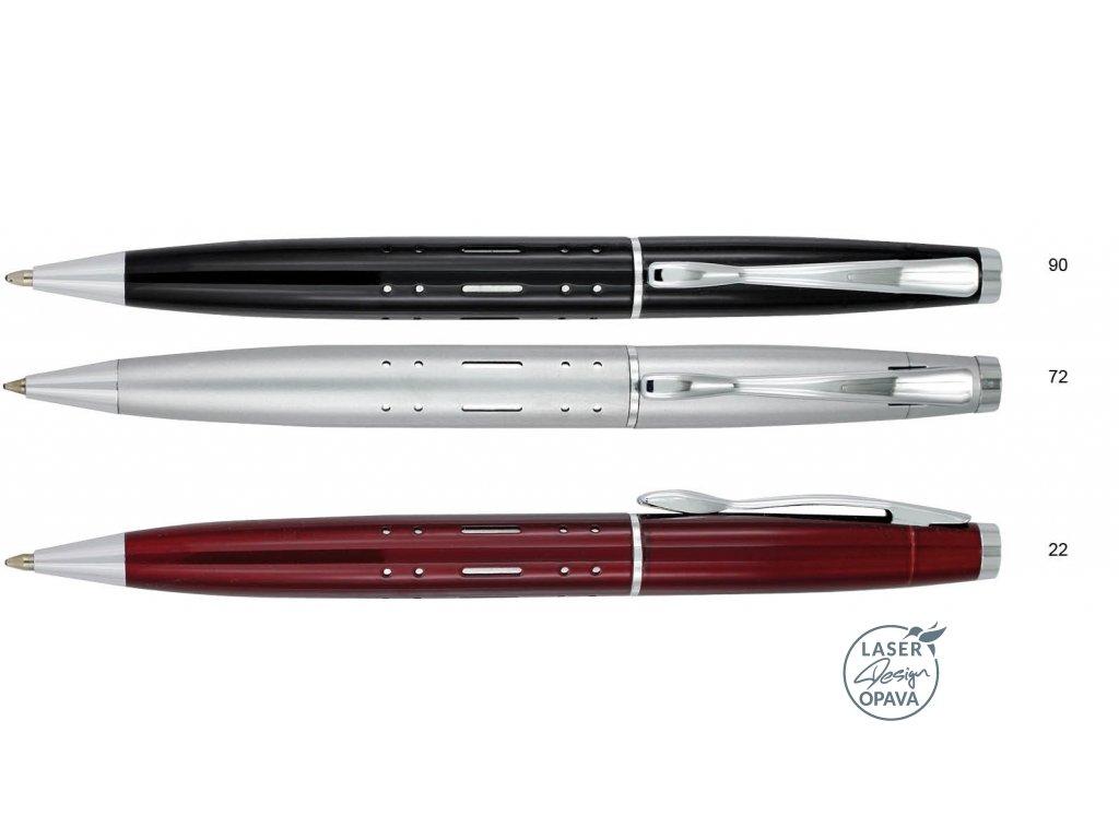 Luxusní kovové kuličkové pero Herold