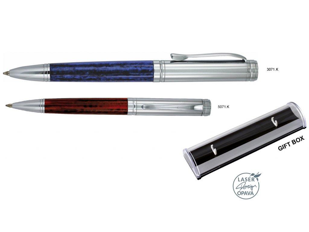 Luxusní kovové kuličkové pero Huci