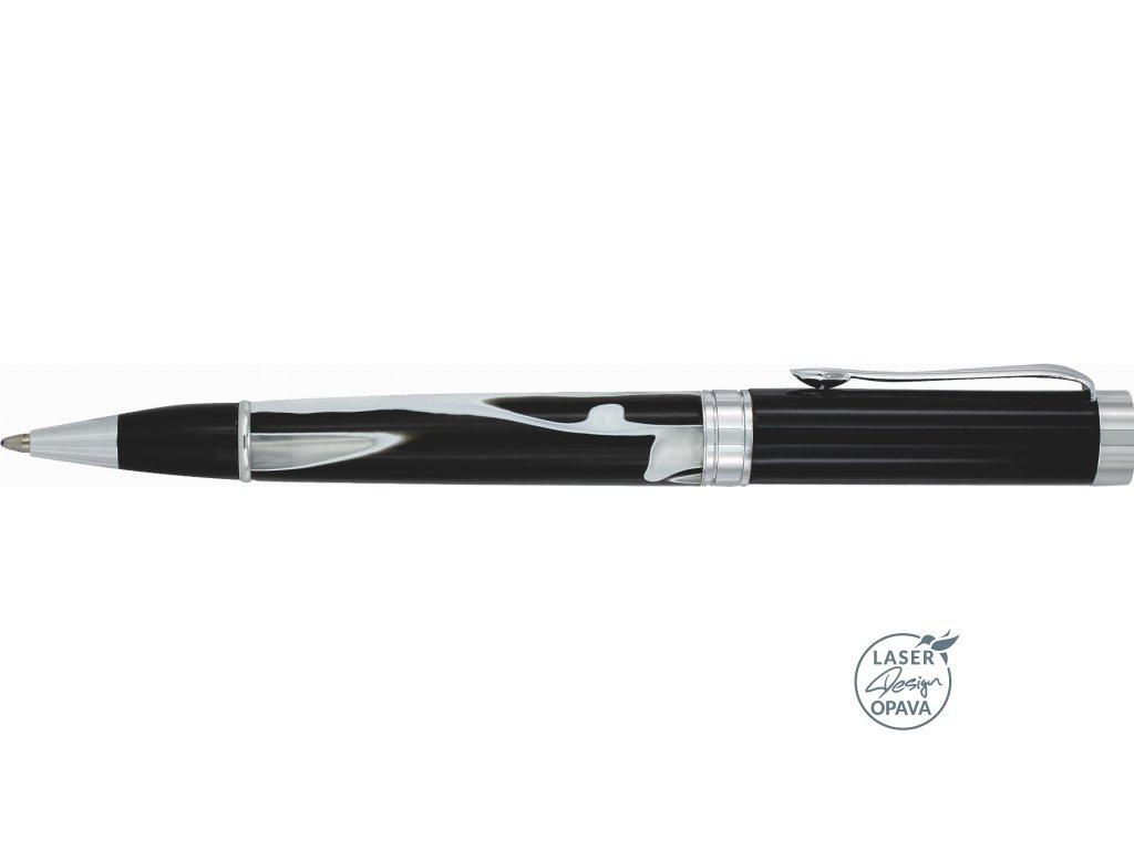Luxusní kovové kuličkové pero Perla