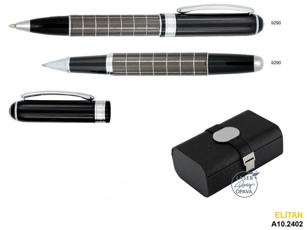 Luxusní sada kuličkové pero a roller Elitan