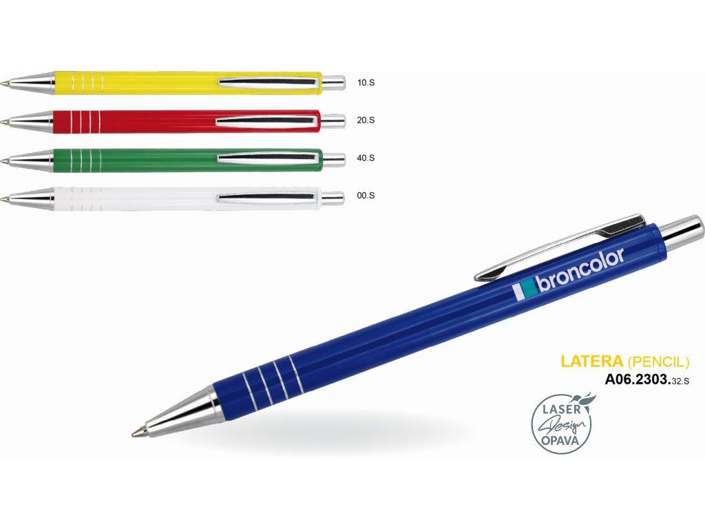 Hliníková mikrotužka Latera (pencil)