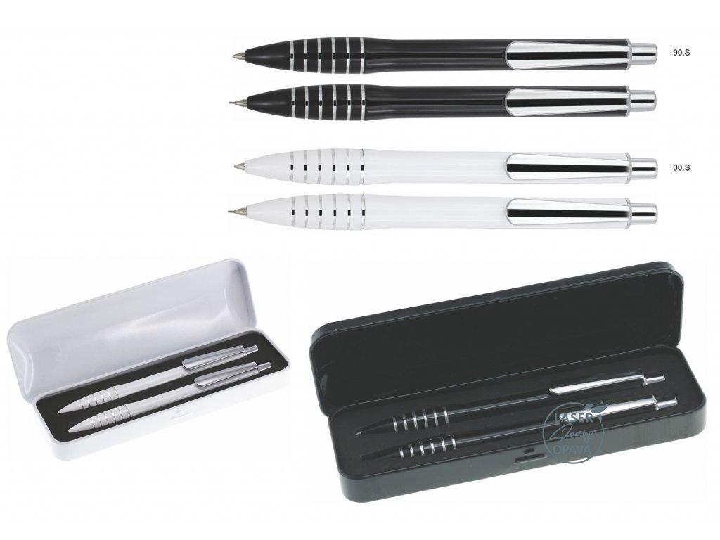 Sada hliníkové kuličkové pero + mikrotužka Quark