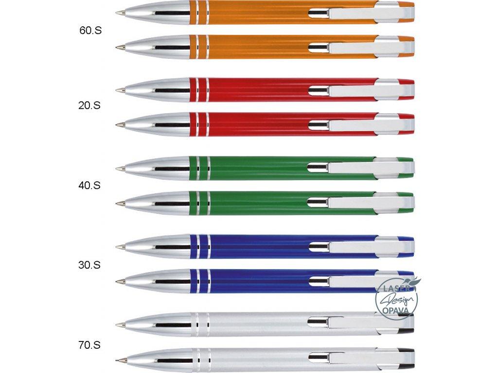 Sada hliníkové kuličkové pero Taur