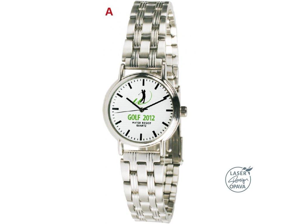 Kovové quartzové hodinky Allin