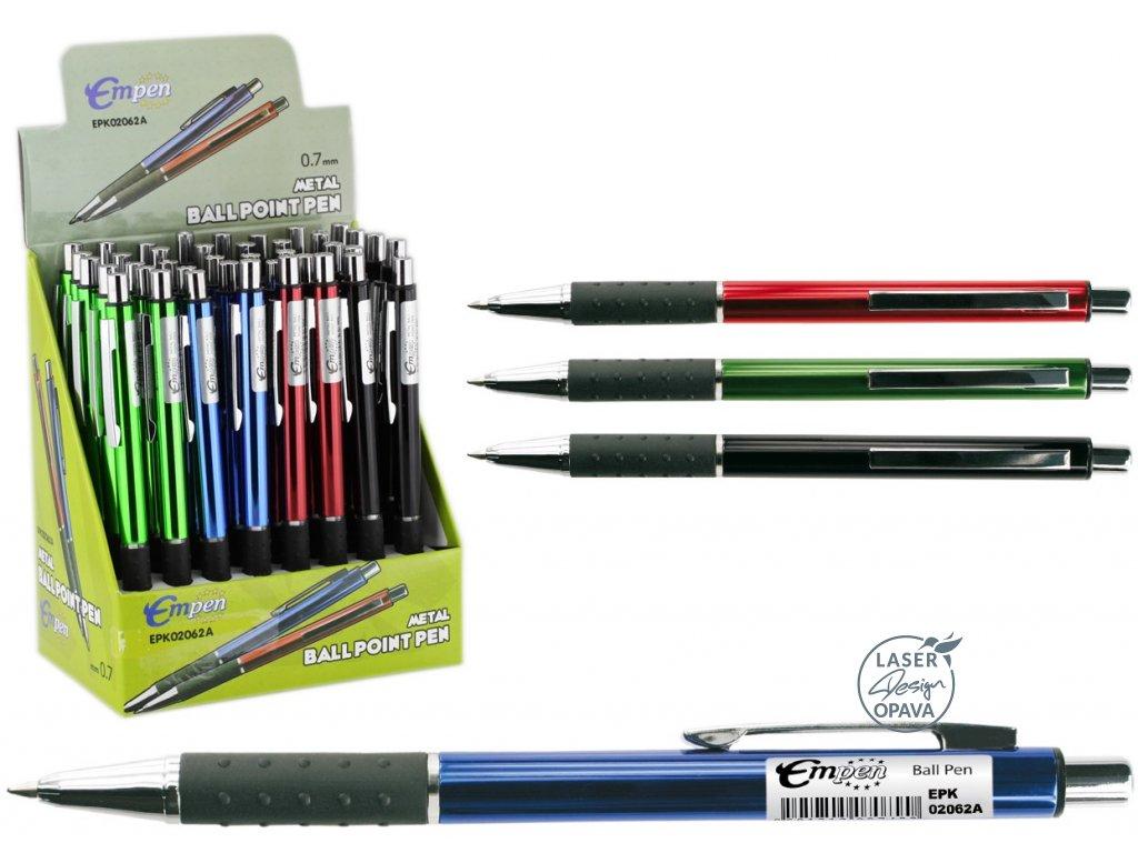Hliníkové kuličkové pero Blaster EMPEN