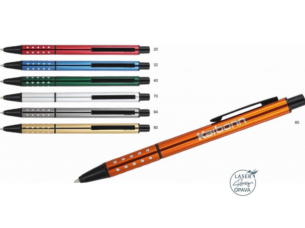 Hliníkové kuličkové pero Elfat
