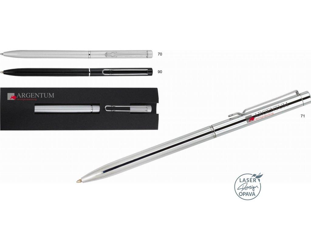 Kovové kuličkové pero Balicor