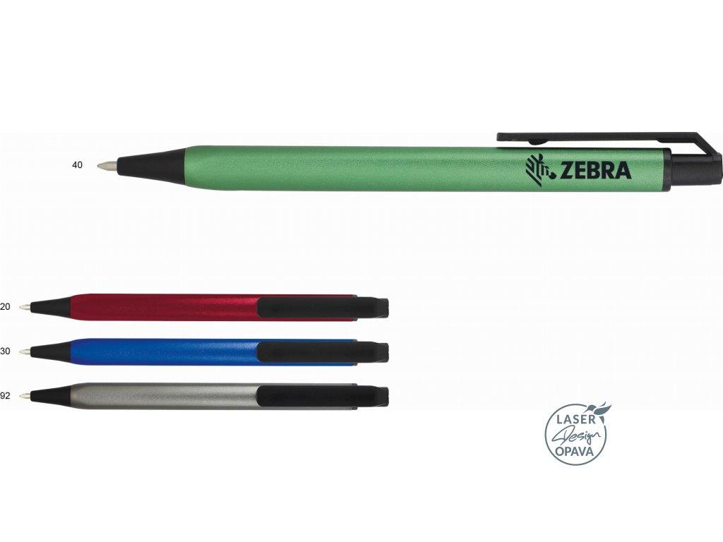 Hliníkové trojhranné kuličkové pero Feline