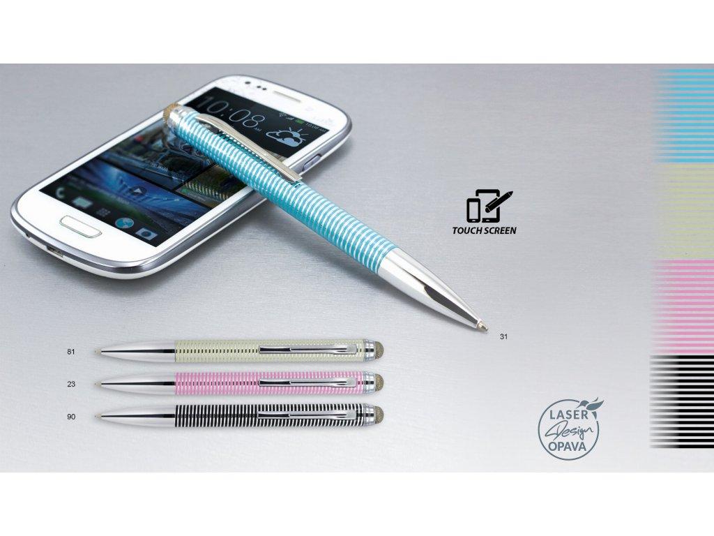 Elegantní kovové kuličkové pero Lashka