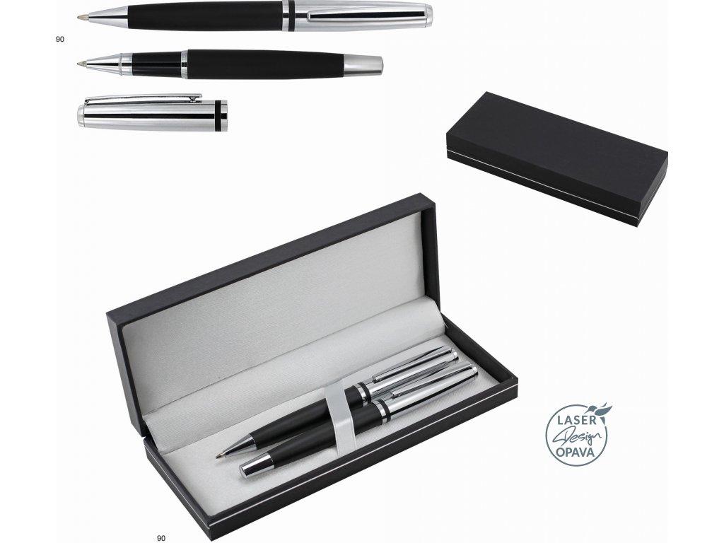 Sada kovové kuličkové pero a roller Okotok